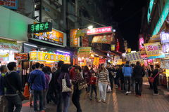 Taiwan : Feng Chia Night Market. Feng Chia Night Market is a night market in Xitun District, Taichung, Taiwan. The market is located next to Feng Chia University stock image