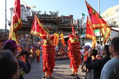 Taiwan festivities royalty free stock photos