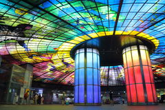 Taiwan : Formosa Boulevard Station Royalty Free Stock Images