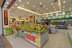 Taiwan fruit monopoly shop Royalty Free Stock Image