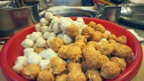 Taiwan-Gastronomiebereich stock video footage