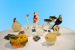 Taiwan Glass Art crafts Royalty Free Stock Image