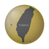 Taiwan Gold Coin Stock Photography