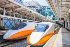Taiwan High Speed Rail Royalty Free Stock Photo