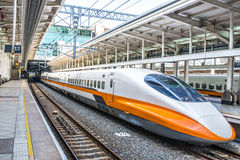 Taiwan High Speed Rail Royalty Free Stock Images