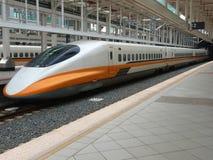 Taiwan-Hochgeschwindigkeitszug Lizenzfreies Stockbild