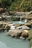 Taiwan Hot Springs Arkivbilder