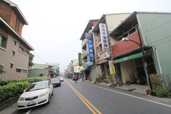 Taiwan Jiji street view Royalty Free Stock Photo