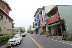Taiwan Jiji street view Royalty Free Stock Photo