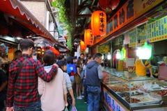 Taiwan: Jiufen Stockbild