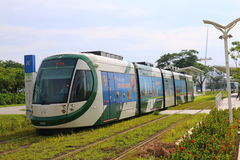 Taiwan : Kaohsiung Light Rail Royalty Free Stock Photo