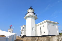 Taiwan : Kaohsiung Lighthouse. The Kaohsiung Lighthouse, also called Cihou Lighthouse or Cijin Lighthouse, is a lighthouse in Cijin District, Kaohsiung, Taiwan Royalty Free Stock Images