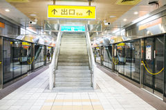 Taiwan - Kaohsiung MRT Royalty Free Stock Images