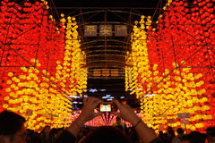 Taiwan Lantern Festival stock photos