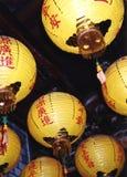 Taiwan Lanterns stock image