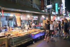 Taiwan : Liuhe Night Market Stock Photography