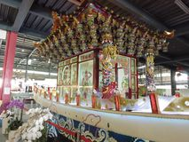 Taiwan Lukang glass temple Stock Photo