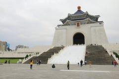 Taiwan: Medborgare Chiang Kai Shek Memorial Hall arkivbilder
