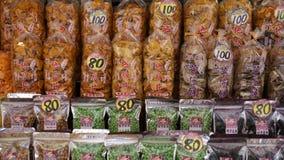 Taiwan mellanmål i Lukang. Royaltyfri Foto