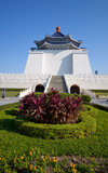 Taiwan memorial hall Stock Photography