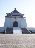 Taiwan memorial hall Chaing Kai-Shek. National landmark visited by tourists stock image
