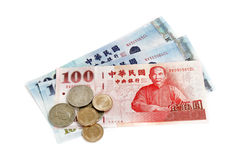Taiwan money Royalty Free Stock Images
