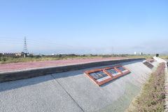 Taiwan. Nantou Puli Mekong River Nioumian KAXABU rural Go sightseeing landscape royalty free stock image