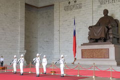 Taiwan: Nationaal Chiang Kai Shek Memorial Hall Stock Afbeeldingen
