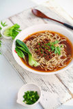 Taiwan  noodle. Noodle  food china food Stock Photography