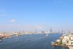 Taiwan: Port av Kaohsiung Royaltyfria Foton