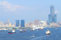 Taiwan : Port of Kaohsiung Stock Photography