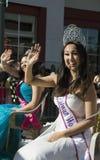 Taiwan prinsessa, 115. guld- Dragon Parade, kinesiskt nytt år, 2014, år av hästen, Los Angeles, Kalifornien, USA Arkivfoto
