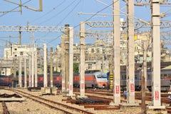 The Taiwan railway transport system Stock Photos