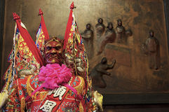 Taiwan religions worship the gods Stock Photos