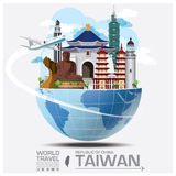Taiwan Republic Of China Landmark Global Travel And Journey Info Royalty Free Stock Photos