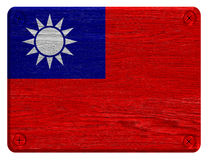 Taiwan Republiken Kina flagga Royaltyfri Foto