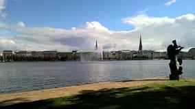 taiwan Roches sur le beachLake à Hambourg, Allemagne Photographie stock libre de droits