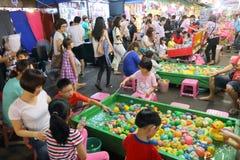 Taiwan : Ruifeng Night Market Stock Photo