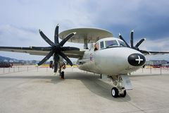 Taiwan's Air Force e-2t. In Taipei Royalty Free Stock Photos