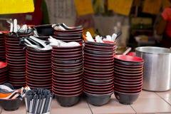 Taiwan-` s berühmte Touristenattraktionen, Ruifang-Affe-Höhlenkatzendorf, die traditionellen bescheidenen Teigwarensnäcke, Snack  Lizenzfreies Stockbild