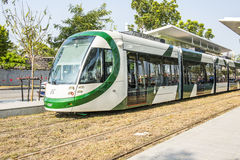 Taiwan's first light rail transit in Kaohsiung Royalty Free Stock Photography
