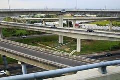 Taiwan's freeway system Royalty Free Stock Photos