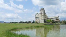 Taiwan`s most beautiful university, Taitung Donghua University stock video footage