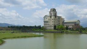 Taiwan`s most beautiful university, Taitung Donghua University stock video