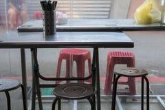 Taiwan-` s Touristenattraktionen, Katzendorf, Teigwarensnäcke, Snack klemmt Einrichtungsgegenstände und Geräte fest, Stockfoto