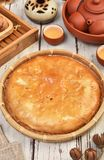 Meat pasty. Taiwan`s  traditional cake - Meat pasty Stock Images