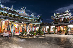 Taiwan's traditional temples Royalty Free Stock Photography