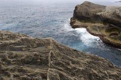 Taiwan sanxiantai coast Stock Images