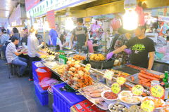 Taiwan : Shilin Night Market Stock Photos