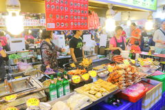 Taiwan : Shilin Night Market Stock Photography